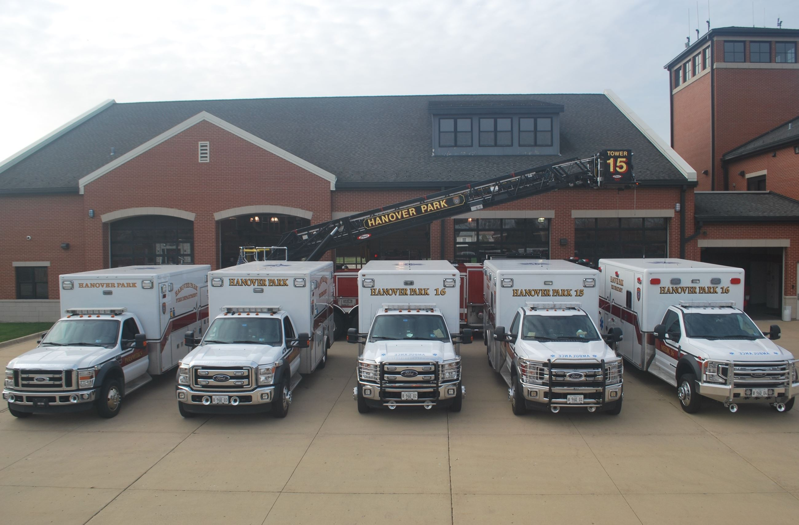 Hanover Park Fire Department Ambulance Pictures 2021