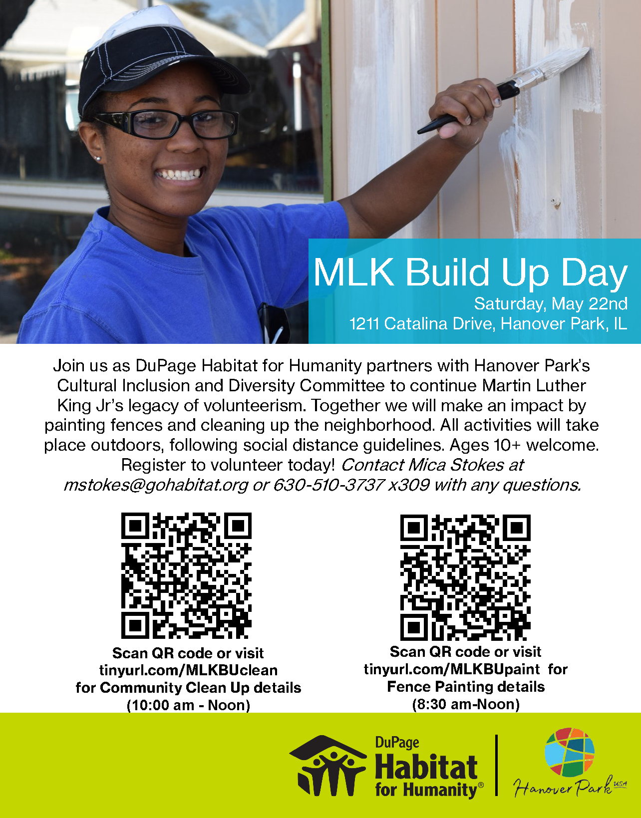2021 MLK Build Up Day Flyer