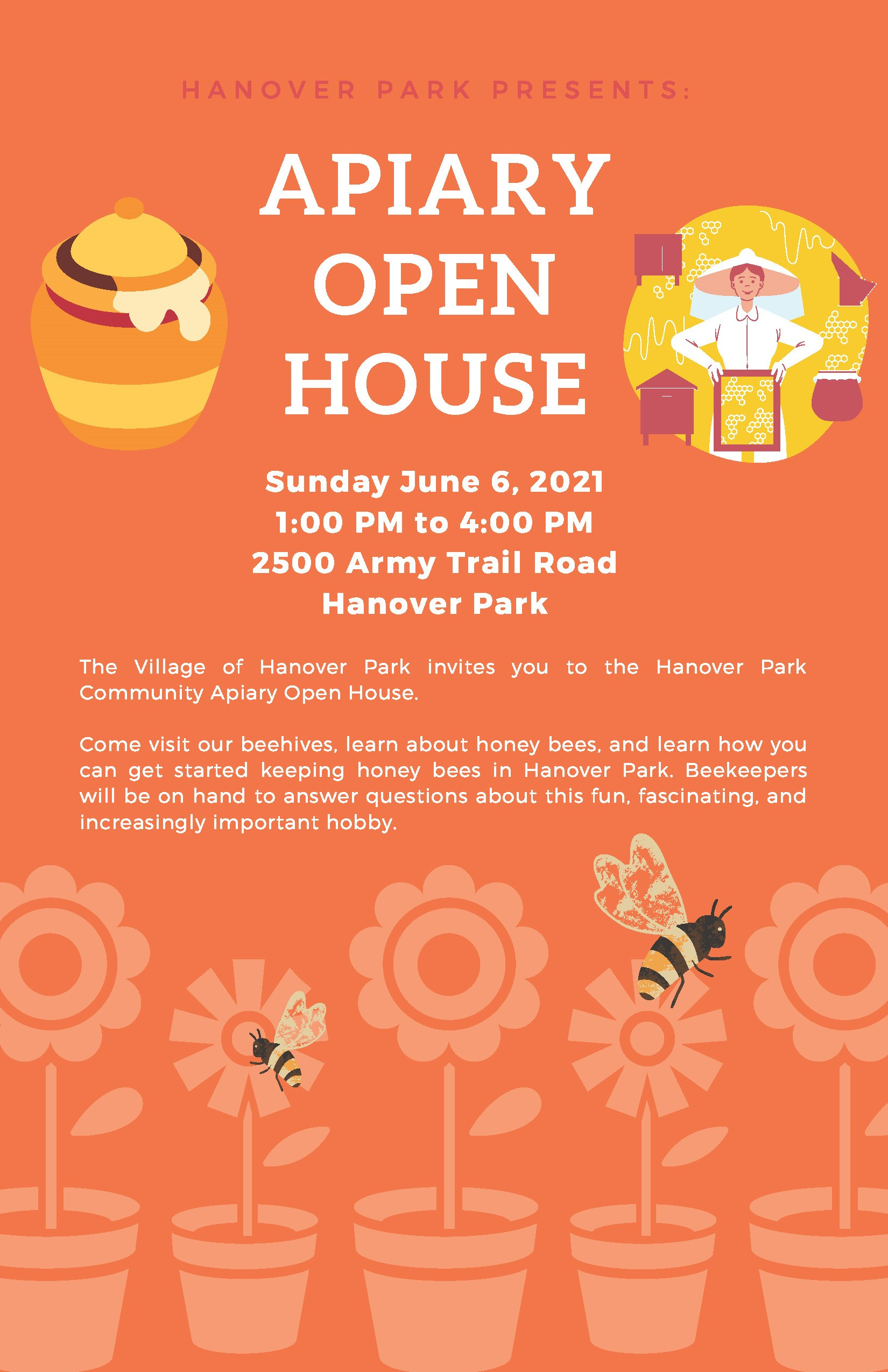 APIARY OPEN HOUSE Flyer